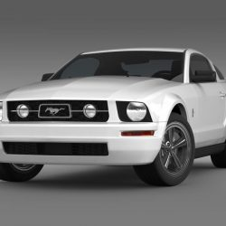 Ford Mustang V6 Pony 2006   ( 34.02KB jpg by CREATOR_3D )