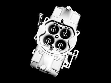 holley 4 cijevni rasplinjač 3d model 3ds 87990