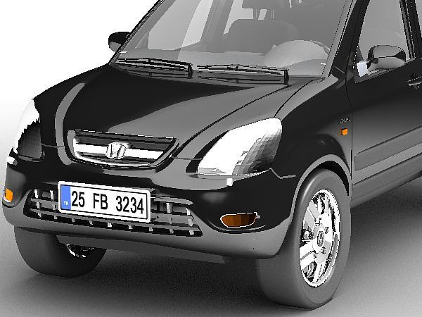 honda cr-v 3d modelis 3ds max lwo obj 125295