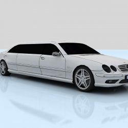Mercedes-Benz CL65 Limousine (C215L) ( 28.69KB jpg by Sheira )