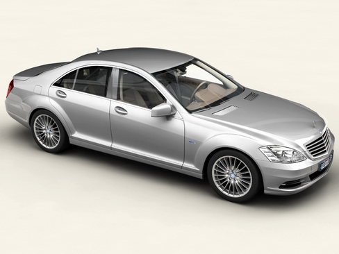 mercedes s class 2010 3d model 3ds max c4d lwo ma mb obj 113678