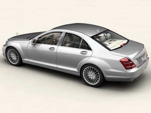 mercedes s class 2010 3d model 3ds max c4d lwo ma mb obj 113679