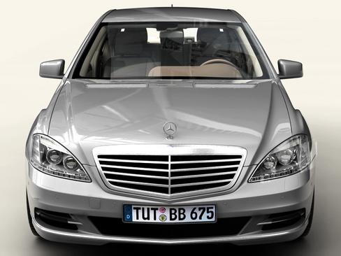 mercedes s class 2010 3d model 3ds max c4d lwo ma mb obj 113680