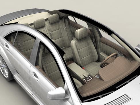mercedes s class 2010 3d model 3ds max c4d lwo ma mb obj 113684