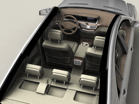 mercedes s class 2010 3d model 3ds max c4d lwo ma mb obj 113685
