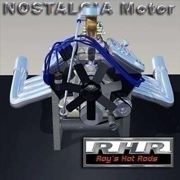 nostalgia motor 2 3d model lwo obj 82090