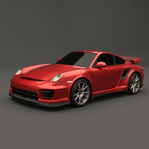 porsche carrera gt2 rs 3d model 3ds fbx lwo obj 112868