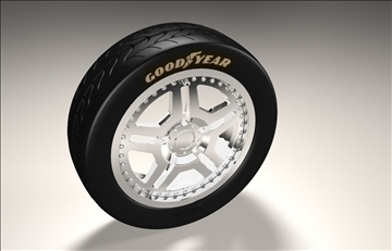 rennen car rim 3d model 3dm 106885
