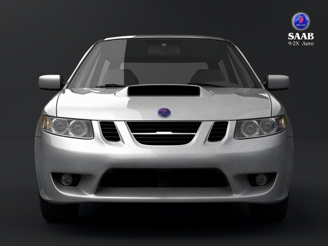 saab 9 2x 3d model 3ds max obj 124830