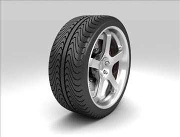 sport wheel 3d model max fbx c4d obj 111432
