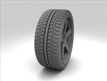 sport wheel 3d model max fbx c4d obj 111434