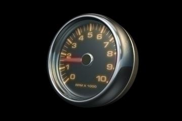 tachometer 3d model lwo 84438