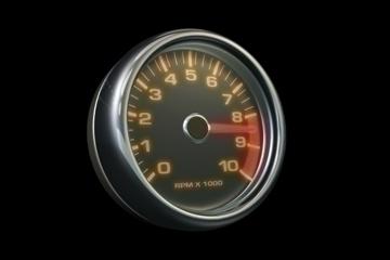 tachometer 3d model lwo 84440