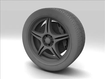 wheel 4 3d model max fbx c4d obj 111419