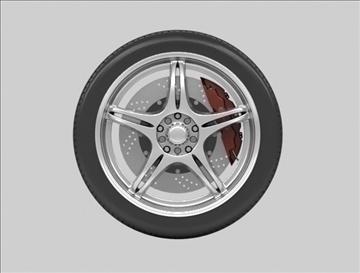 wheel 4 3d model max fbx c4d obj 111421