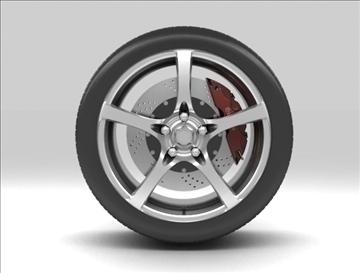 wheel 7 3d model max obj 105651