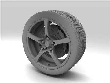 wheel 7 3d model max obj 105653