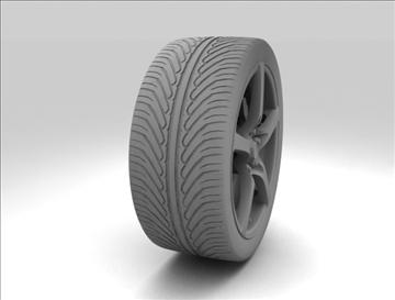 wheel 7 3d model max obj 105655