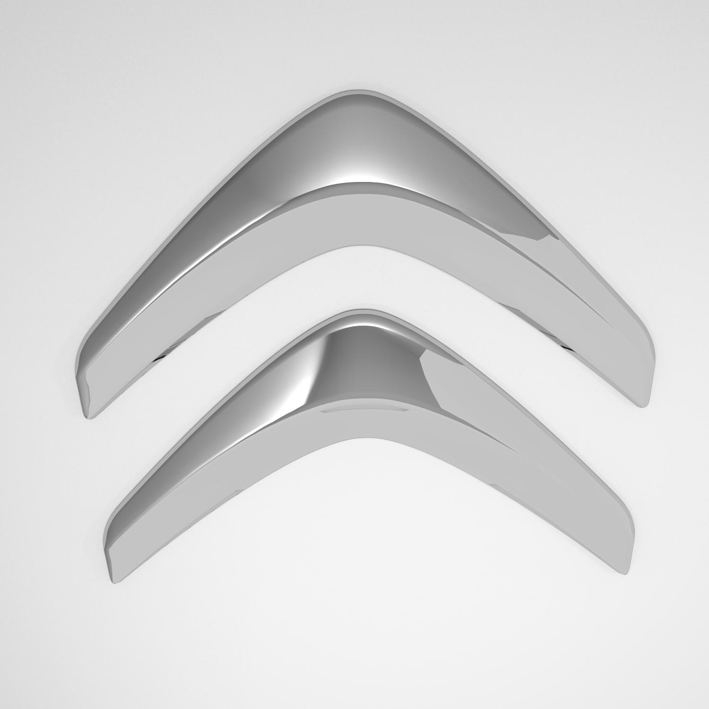 Citroen logo 3d samhail le chéile 141298