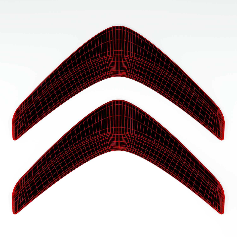 Citroen logo 3d samhail le chéile 141301