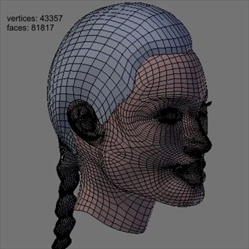 angelina jolie kiváló minőségű 3d modell keverék objektum 93246