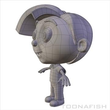 Cartoony Boy ( 46.85KB jpg by toonafish )