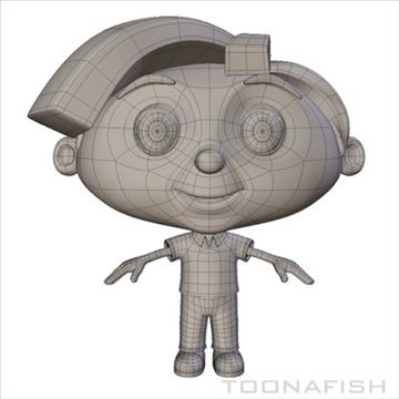 Cartoony Boy ( 55.43KB jpg by toonafish )