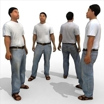 – casual male 1a 3d model 3ds max lwo 86040