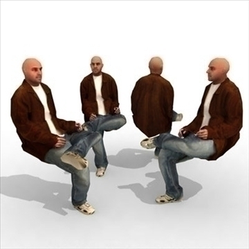 – casual male 3a 3d model 3ds max lwo 86044