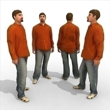 – casual male 4 3d model 3ds max lwo 86065