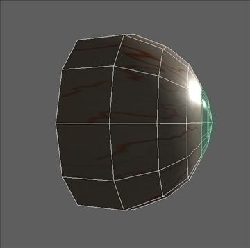 eye low poly textured 3d model ma mb psd obj 109545