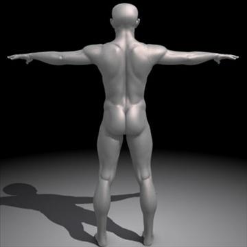 realistic human male 3d model 3ds max obj 87137