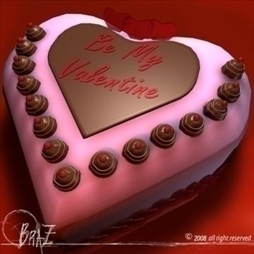 Valentine Cake ( 85.53KB Jpg By Braz )