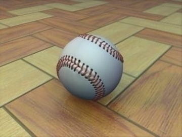 beisbol 3d model 3ds màxim mx hrc xsi obj 110966