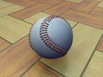 beisbol 3d model 3ds màxim mx hrc xsi obj 110967