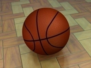 basketbal 3d model 3ds max lwo hrc xsi obj 110962