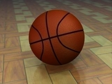 košarka 3d model 3ds max lwo hrc xsi obj 110963