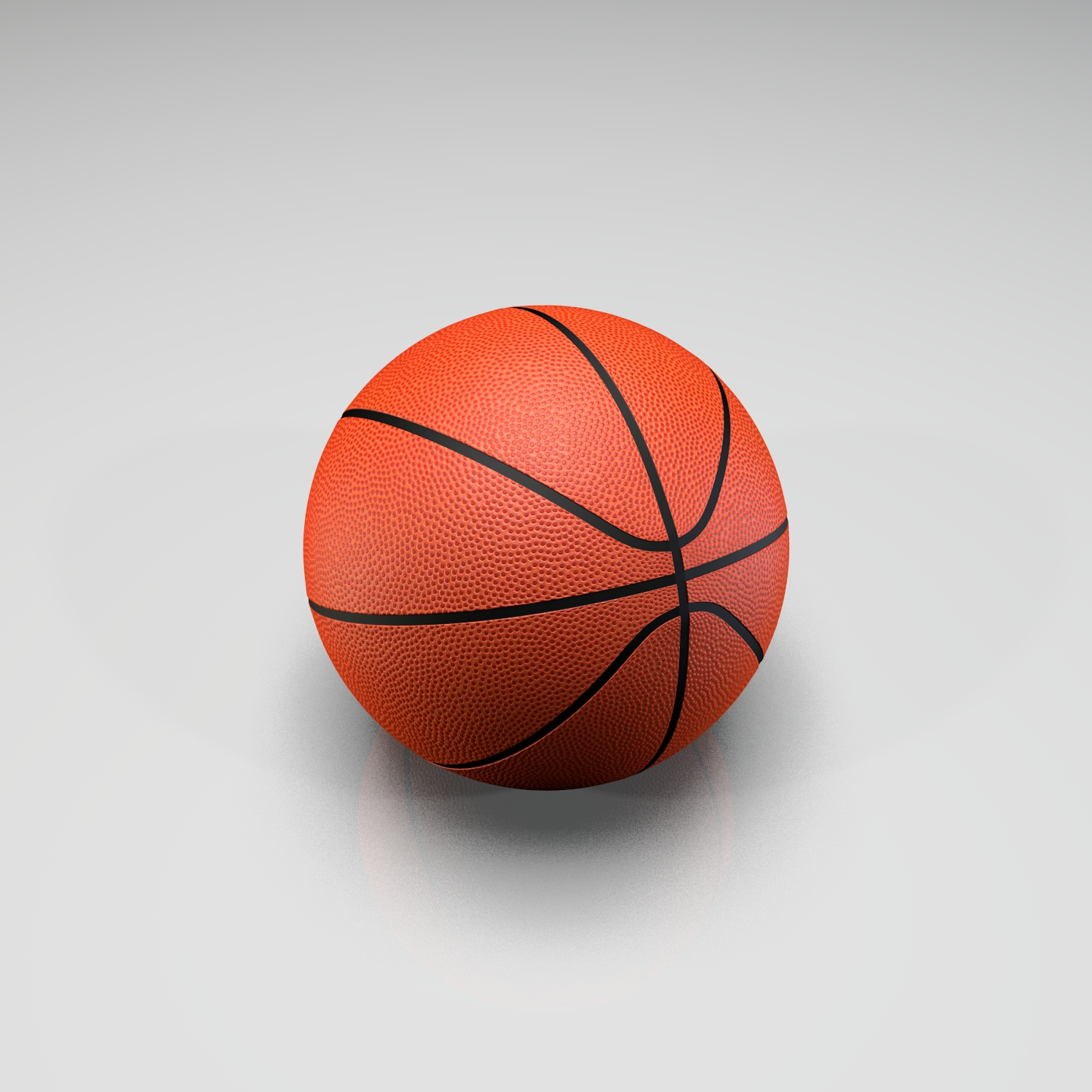 Basketball Ball 3D Model - FlatPyramid