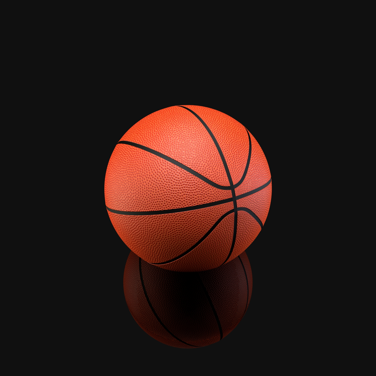 basketball ball 3d model blend obj 118930