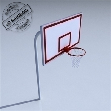 basketball rim 01. 3d model 3ds max c4d ma mb 3dm pz3 pp2 obj other 110014