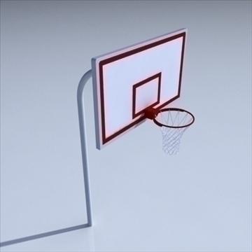basketball rim 01. 3d model 3ds max c4d ma mb 3dm pz3 pp2 obj other 110015