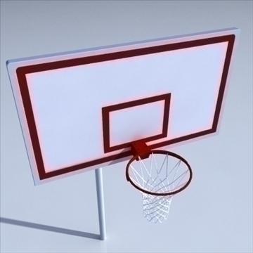 basketball rim 01. 3d model 3ds max c4d ma mb 3dm pz3 pp2 obj other 110016