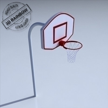 basketball rim 02. 3d model 3ds max ma mb obj other 94857