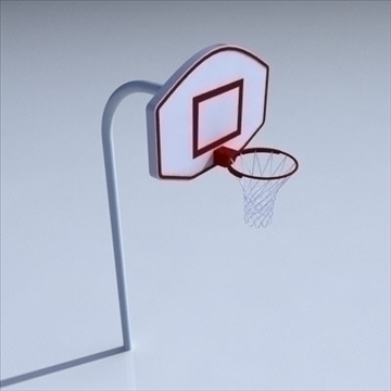basketball rim 02. 3d model 3ds max ma mb obj other 94858