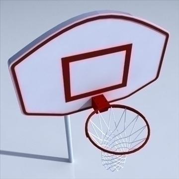 košarkaški rub 02. 3d model 3ds max ma mb obj drugi 94859