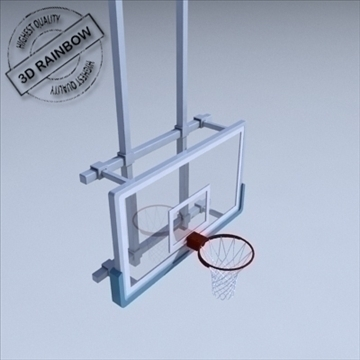 basketball rim 03. 3d model 3ds max ma mb other pz3 pp2 obj 94861