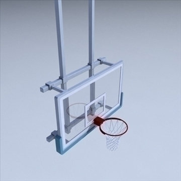basketball rim 03. 3d model 3ds max ma mb other pz3 pp2 obj 94862