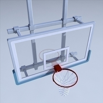 basketball rim 03. 3d model 3ds max ma mb other pz3 pp2 obj 94863