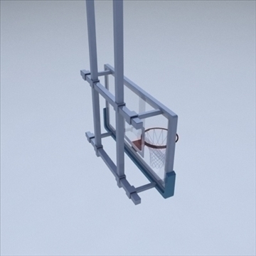 basketball rim 03. 3d model 3ds max ma mb other pz3 pp2 obj 94864