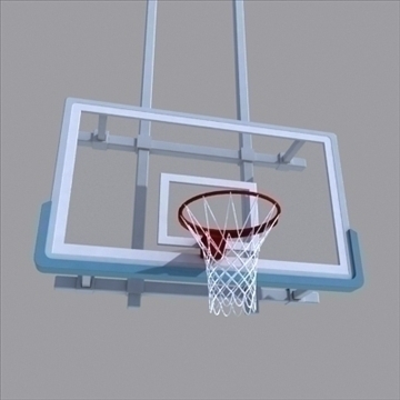 basketball rim 03. 3d model 3ds max ma mb other pz3 pp2 obj 94866